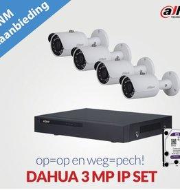 Dahua Technology DAHUA 3 MP IP SET
