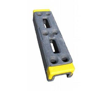 Kunststof bouwhekvoet (met Signalering) 18 kg