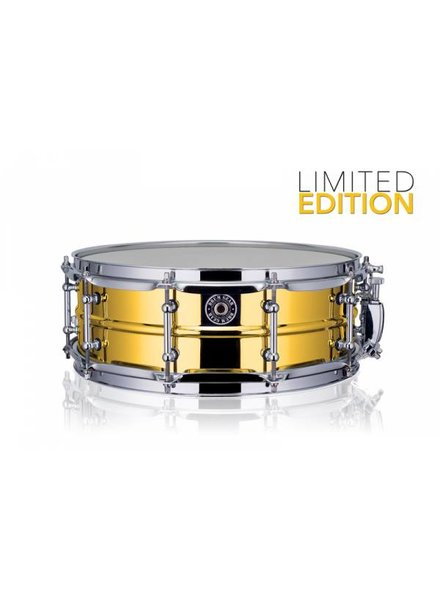 Drum Gear  Getriebe Trommel Snare Drum Gold-Chrom 14''x5 '' Limited Edition S1450LTD