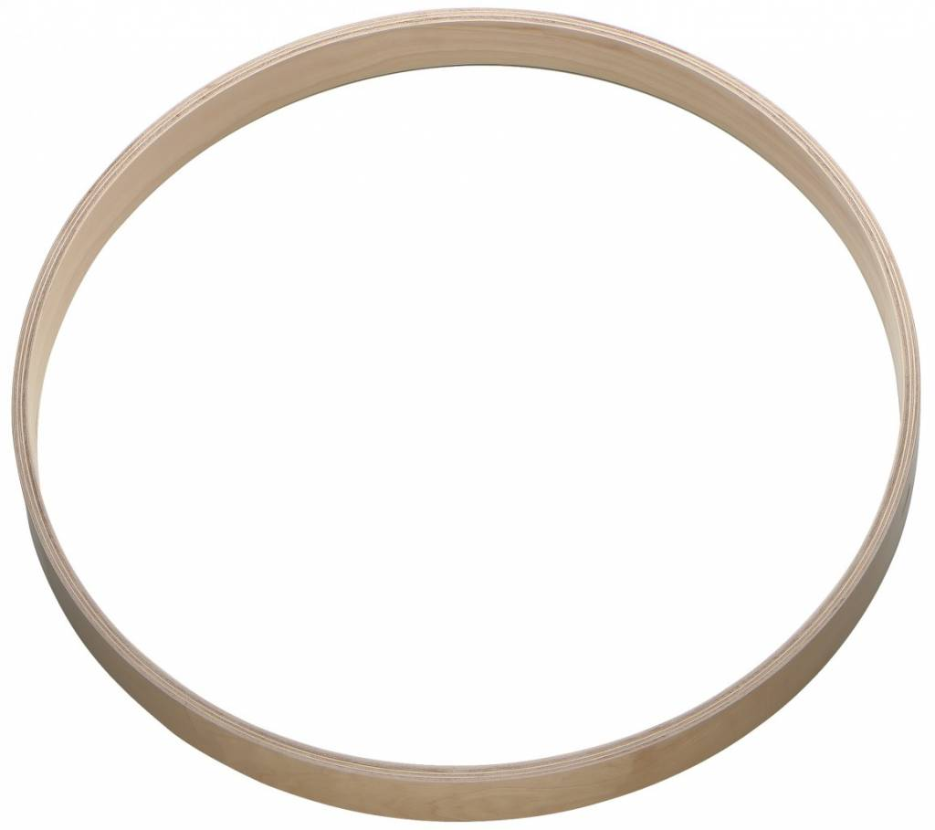"B System Bsystem 18 ""birch bass drum hoop hope"