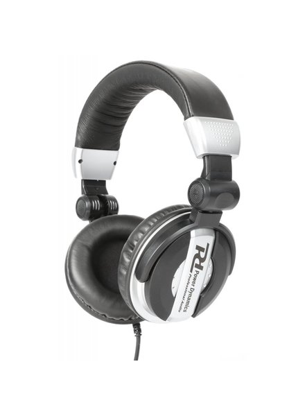 PD Power Dynamics PH200 DJ Headphones Silver