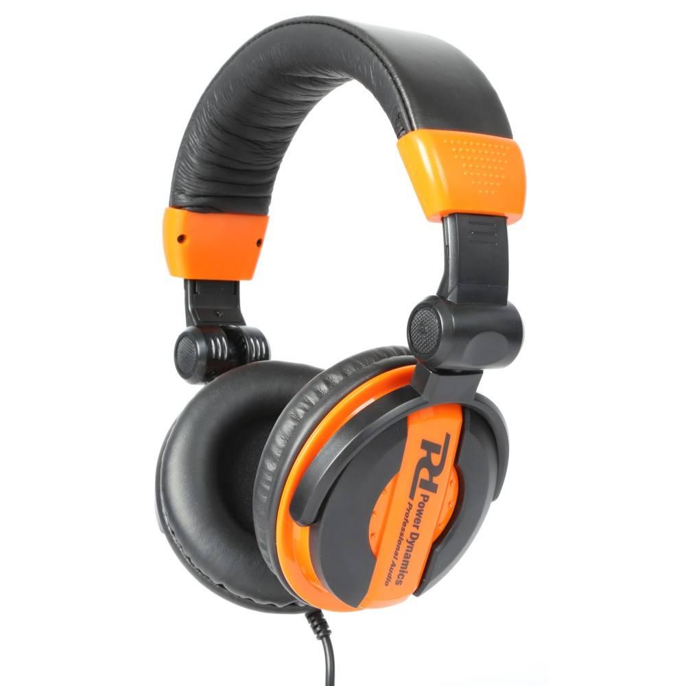 PD Power Dynamics Strom Dynamics PH200 DJ Kopfhörer-orange