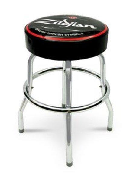 "Zildjian Bar stool, 30"", black/red, white logo"