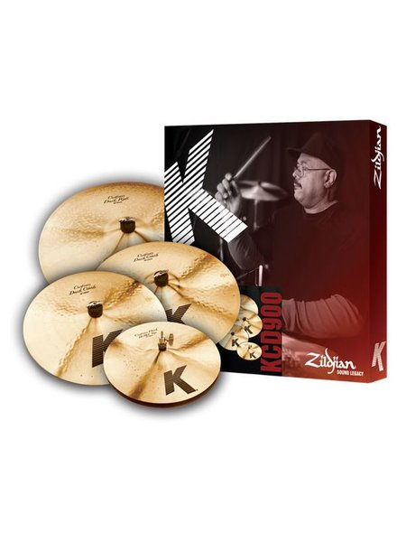 Zildjian Cymbal set, K Custom, Dark Cymbal Pack, 14H/16+18Cr/20R