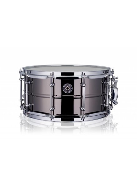 "Drum Gear  Getriebe Trommel Snare Drum schwarz Messing 14 x 6,5 ""DGS-B1465"