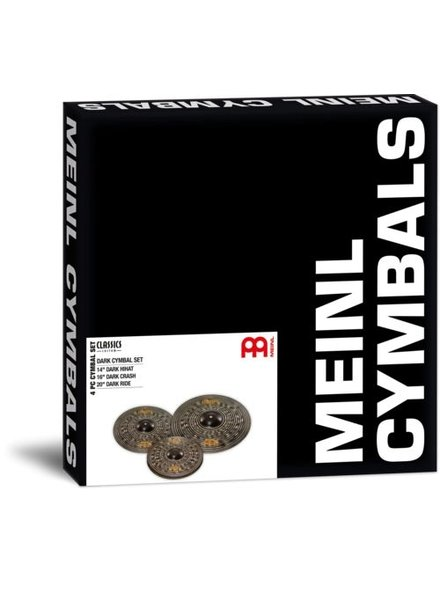 Meinl Classics Dark Custom set 14 16 20