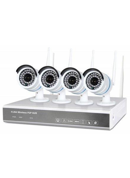 Fenton Fenton Draadloos Bewakingssysteem met 4 HD-camera's4 Cam Wireless NVR kit 1TB 351.183
