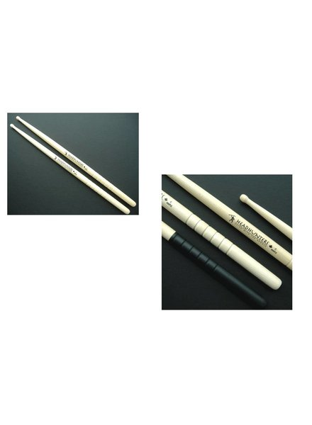 Headhunters drumsticks HM-C maple Holztip C groove