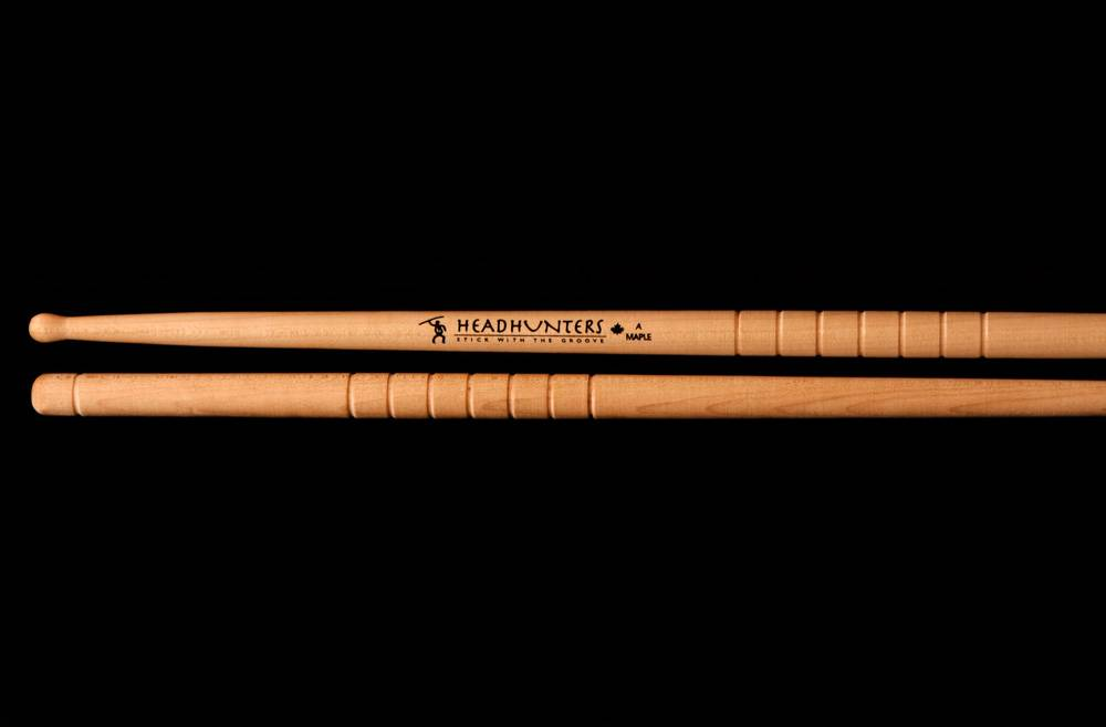 Headhunters  drumsticks HM-A maple Holztip A groove
