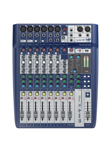 Soundcraft Signature 10 analoog mengpaneel