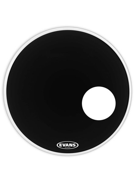 Evans Evans EQ3 resonant black with port 22 EFTA BD22RB 22 '' GEN EQ3 RES BK