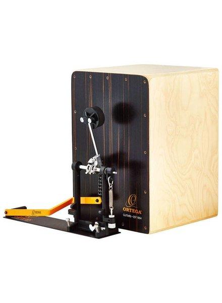 Ortega OSTBCJ-BU Stompbox Cajon bundel incl. pedal, tassenset