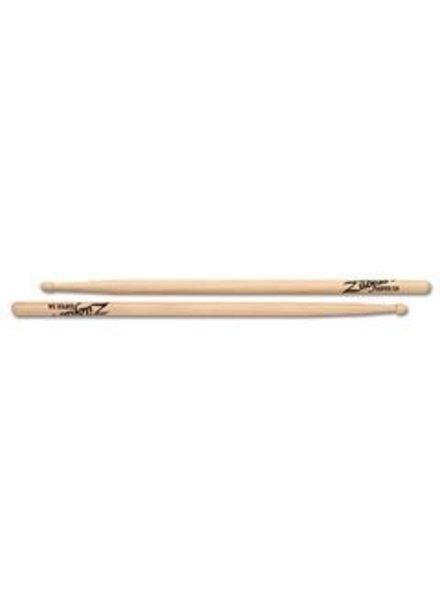 Zildjian S5AWN drumstokken Super 5A Hickory Wood Tip-serie ZIS5AWN