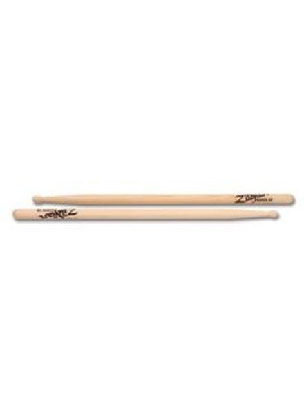Zildjian Drumsticks, Hickory Wood Tip series, Super 5B, natural