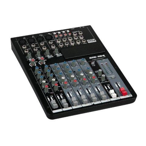 DAP audio pro DAP pro GIG-104C 10 Kanal Live-Mischer inkl. Dynamics D2283