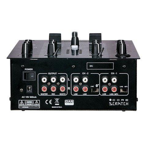 DAP audio pro DAP Audio CORE Scratch 2-Kanal DJ-Mixer D2312