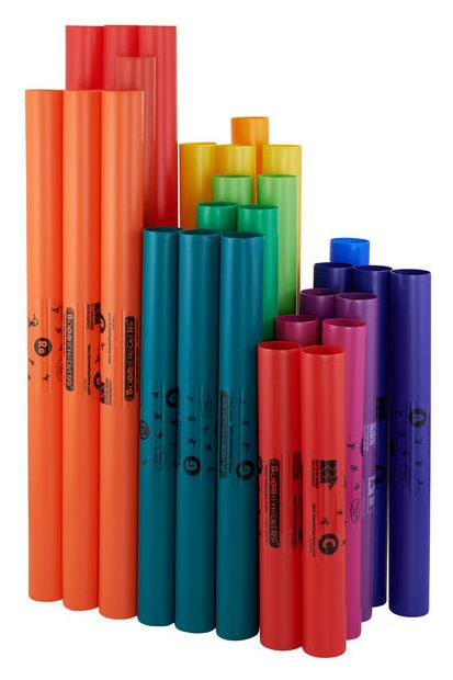Boomwhackers MG-BW Set 04 Schule Basic Set Move & Groove