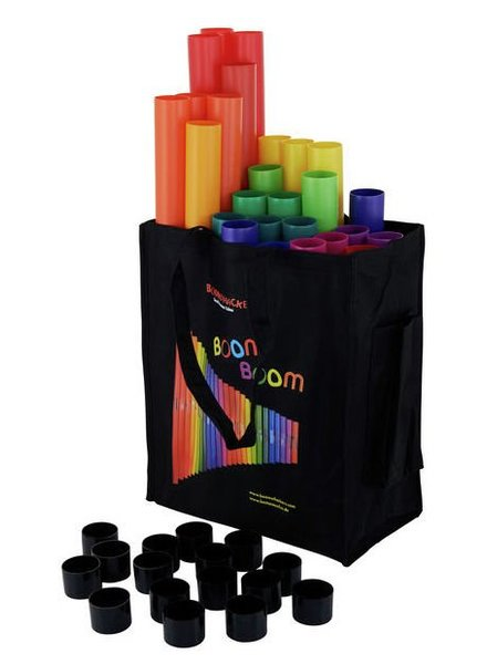 Boomwhackers BW MG-Set 04 Basic School Set Move & Groove