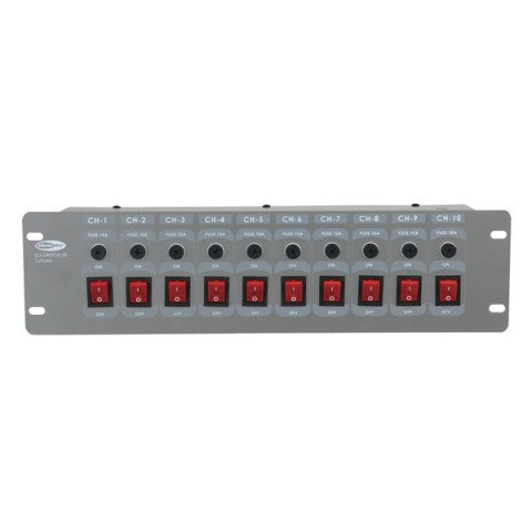 Showtec  DJ switch 10 50364