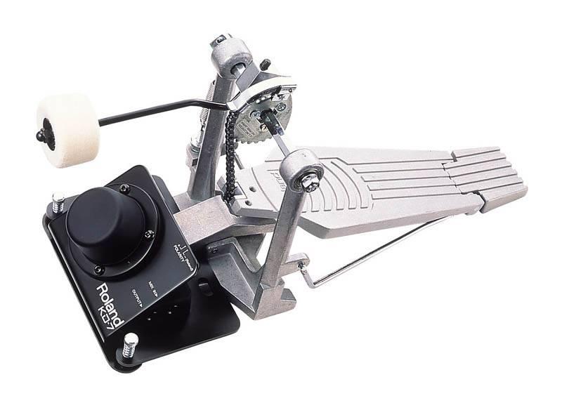 Roland  KD7 Kick Trigger Bass-Drum-Kick-Pad inkl. Beater Winkel