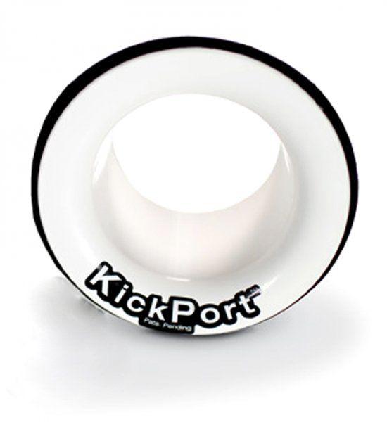 Kickport  KP2_WH weiß Dämpferregelung Bass Booster