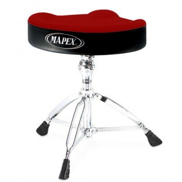 Mapex  T765ASER Drum Hocker rot