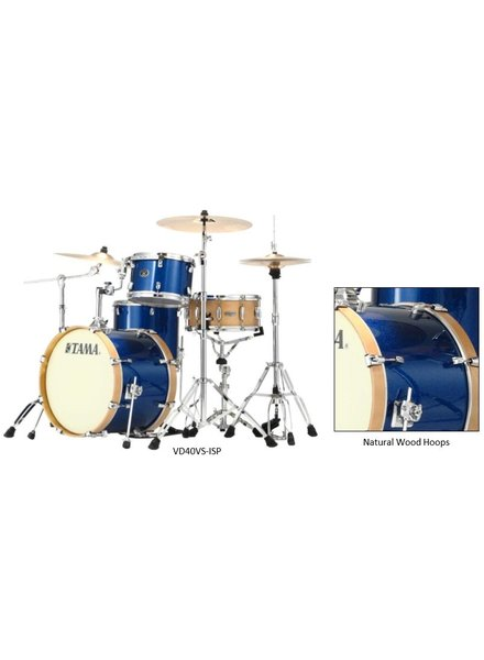 Tama VD40VS ISP Silver 4-teiliges Set Vintage Drum limitierte Auflage Indigo Sparkle