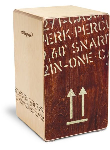 Schlagwerk Cajon CP404RED 2inOne Red Edition Large