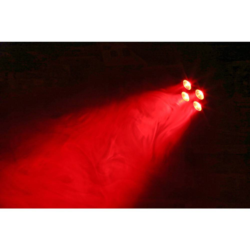 Beamz  BAC404 Aluminium LED Spot 4x 18W 6-in-1-LEDs