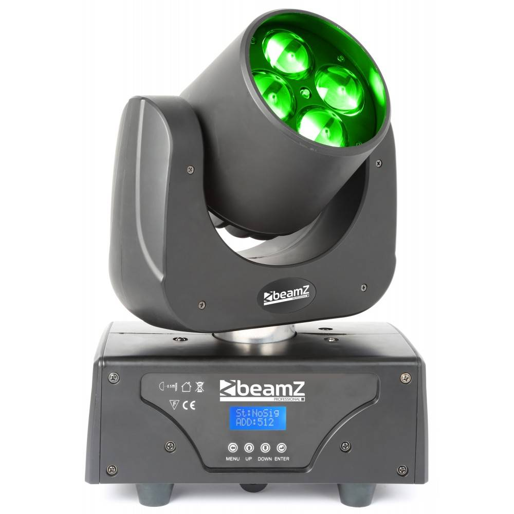 Beamz  Professionelle Razor500 Moving Head mit rotierenden Linsen Demo-Modell