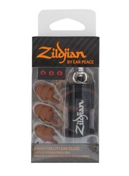 Zildjian Ear protection, HD earplugs, dark, (pair)