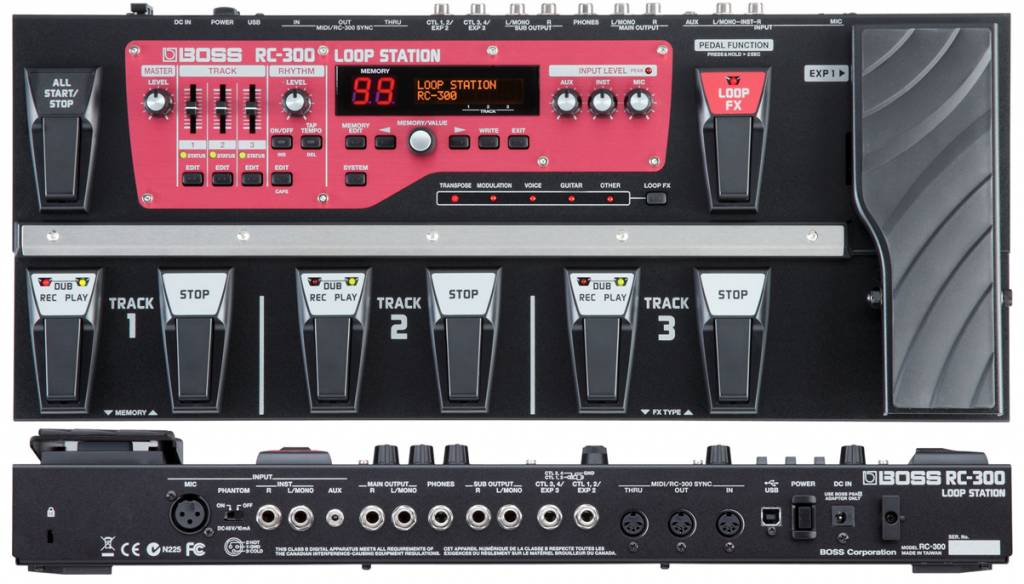 Boss Roland RC-300 Loop Station Loop Machine RC300