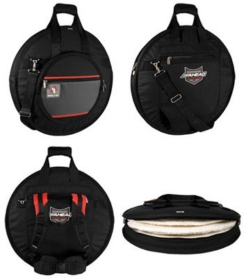 "Ahead  Armor Cases AR6023RS 24 ""Cymbal Cymbal Silo bag case"