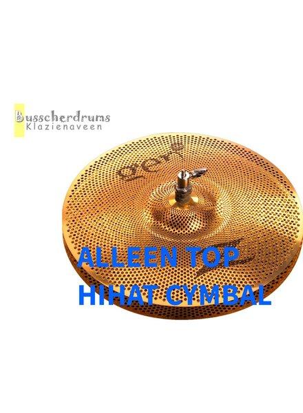 """Zildjian Zildjian Gen16 Buffed Bronze 14 """"Hallo-Hat Cymbal Top ZIG1614HT"""