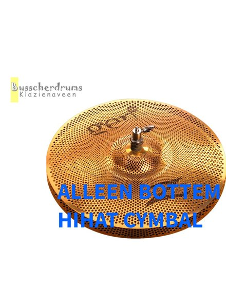 "Zildjian Gen16 Buffed Bronze 14 ""Hi-Hat Bottom: Under Basin alone!"