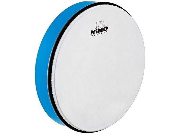 "Meinl NINO Handtrommel NINO6SB abs Handtrommel 12 ""blau inkl. Stab"