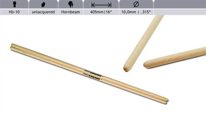 Rohema  Rhythm Sticks Buche 6132/1 HB10 Timbales Sticks