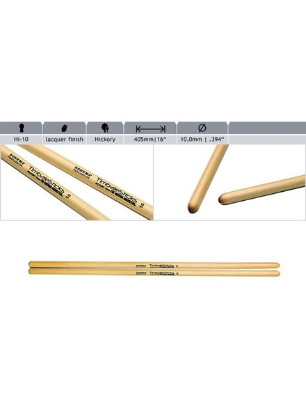 Rohema Rohema Rhythm Sticks Hickory 61392/2 HI10 Timbale