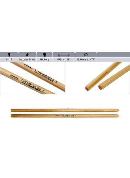 Rohema Rhythm Sticks Hickory 61393/2 Hi12 Timbale