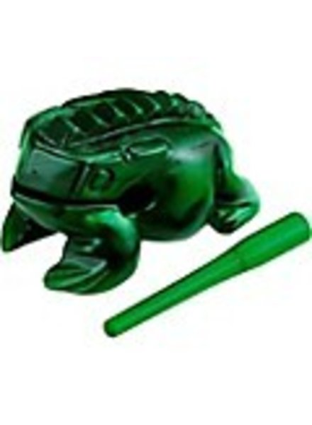 Meinl NINO PERCUSSION Guiro Frog NINO514GR, mittelgrün