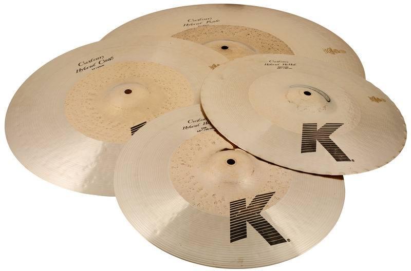 Zildjian  K Custom-serie Hybrid-set bestaande uit: