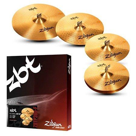 Zildjian  ZBT-serie 5-delige set bestaande uit:
