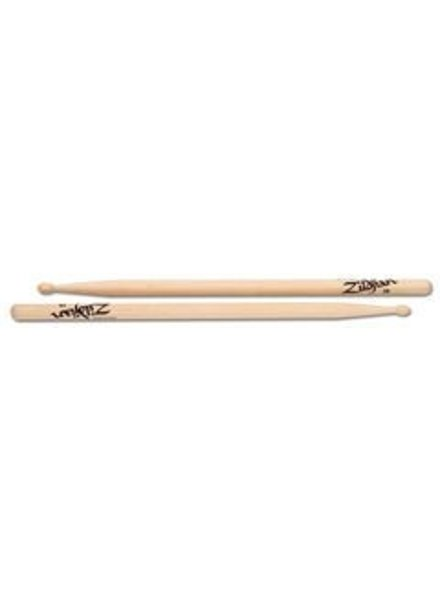 Zildjian Drumsticks, Hickory Wood Tip series, 2B, natural