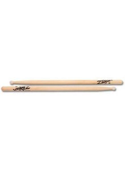 Zildjian 3ANN drumstokken 3A Hickory Nylon Tip-serie ZI3ANN