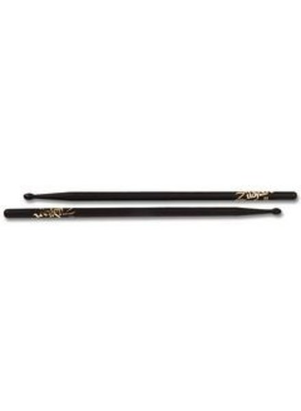 Zildjian 5AWB drumsticks 5A Hickory Wood Tip Series ZI5AWB black