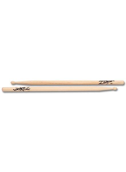 Zildjian 5AWN drumsticks 5A Hickory Wood Tip Series ZI5AWN