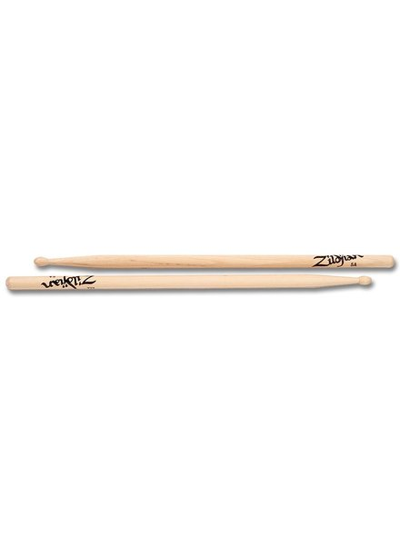 Zildjian ZILDJIAN 5AWN Trommelstöcke 5A Hickory Wood Tip-Serie ZI5AWN