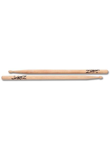 Zildjian 5BWN Trommelstöcke 5B Hickory Wood Tip-Serie ZI5BWN