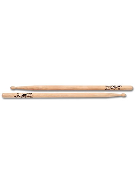 Zildjian Drumsticks, Hickory Wood Tip series, 5B, natural
