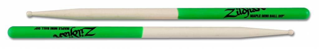 Zildjian  Trommelstöcke MPLMG Mini Ball Grün Dip, Maple Serie ZIMPLMG